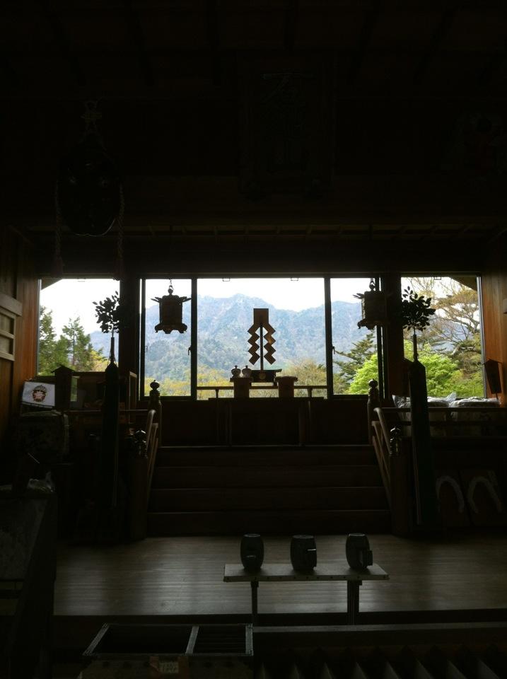 石鎚山登山 成就社ルート(2012年5月20日)