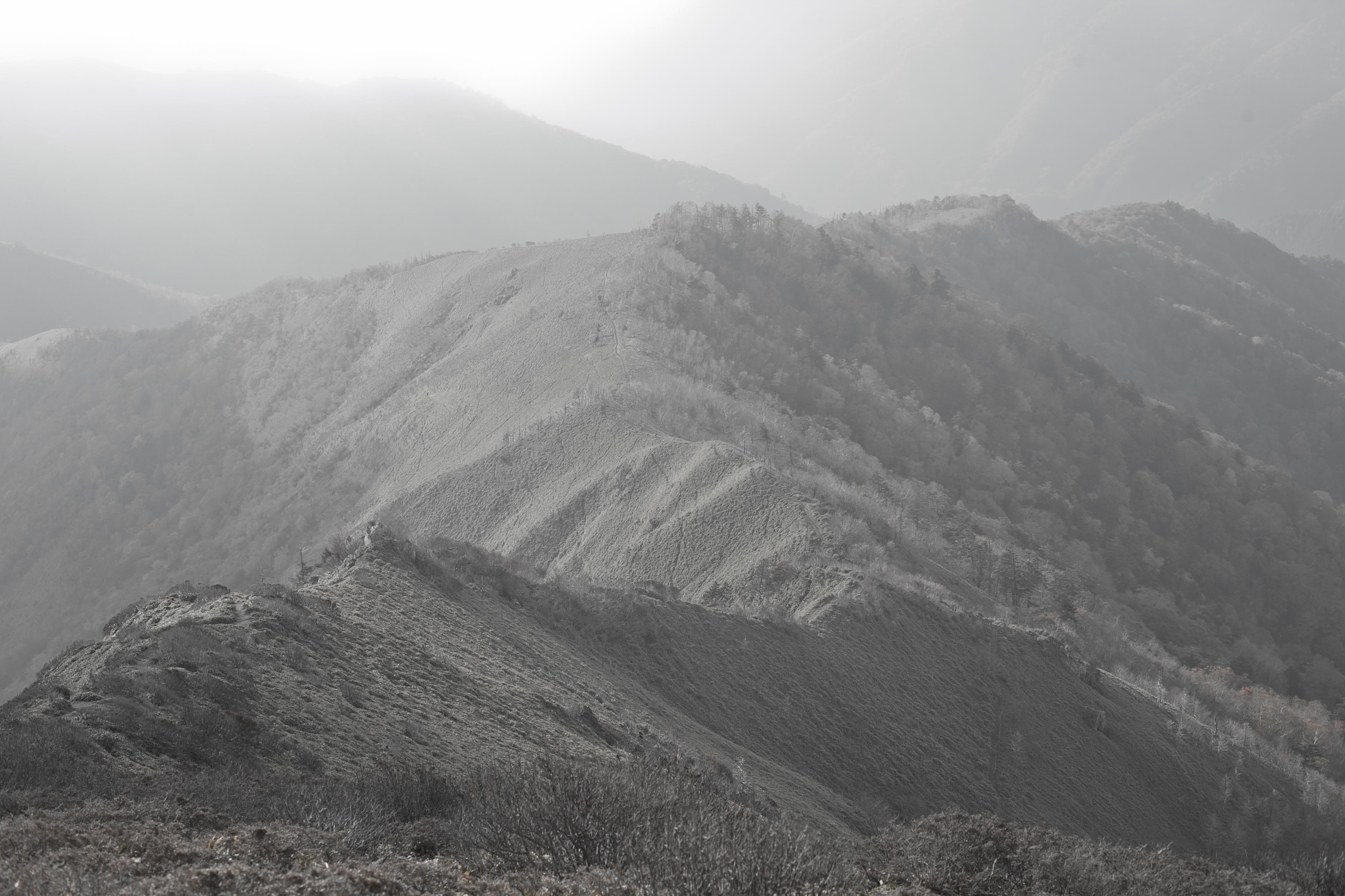 四国徳島 剣山と次郎笈登山3回目 2011年10月16日