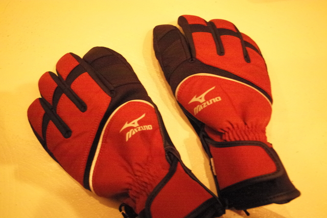 ミズノブレスサーモ手袋