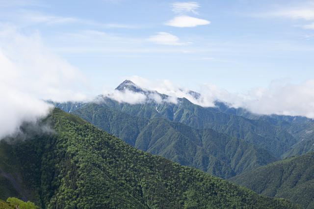 南アルプス仙丈ヶ岳