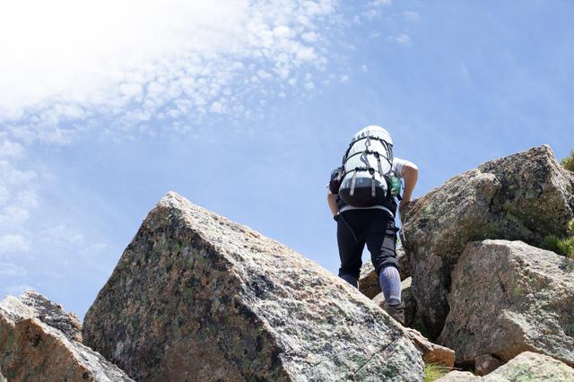 甲斐駒ヶ岳の直登ルート
