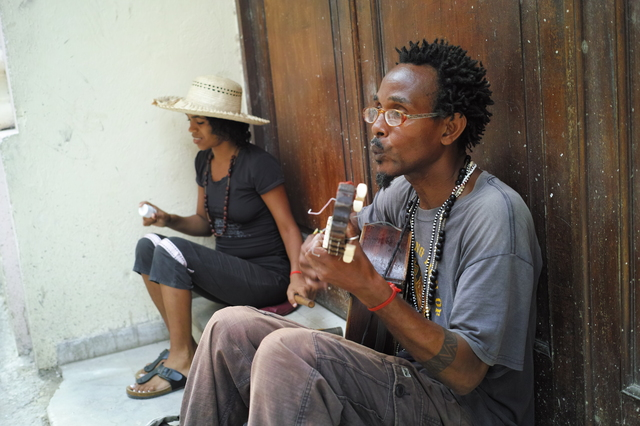 ハバナのストリートミュージシャン
