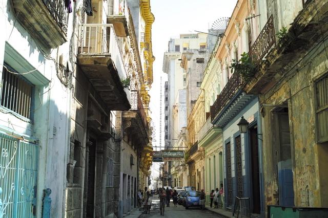 ハバナ・旧市街の街
