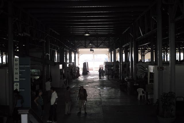 民芸品市場の風景